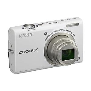Nikon Coolpix S6200 16 Megapixels Digital Camea (White)