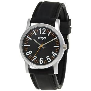 Maxima Ego Analog Black Dial Men's Watch - E-01076PAGC