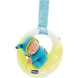 Chicco-Musical Nightlight Goodnight Moon Blue