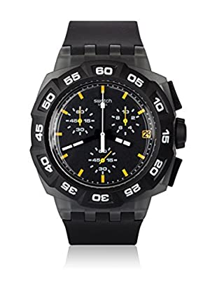 Swatch Quarzuhr Man BLACK HERO SUIB414 42.0 mm