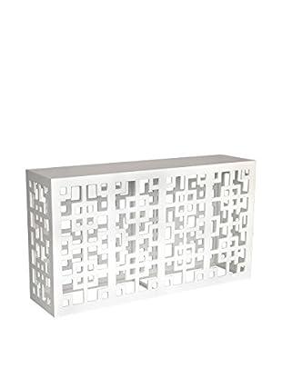 Jeffan Tatum Console Table, White