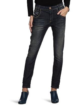 ONLY Jeans, Anti Fit (tiefer Schritt) Normaler Bund (Blau (Denim))