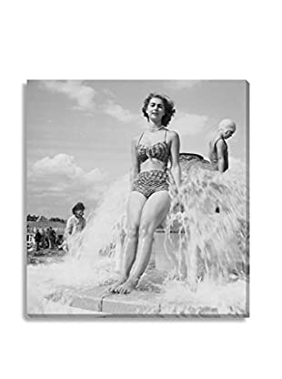 Photos.Com By Getty Images Fountain Fun By Chaloner Woods On Canvas