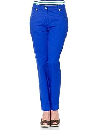 Cortefiel Hose 4 Taschen (Blau)