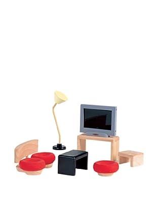 PlanToys Dollhouse Living Room Décor