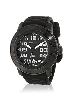 Glam Rock Men's GR33004 SoBe Black Silicone Watch