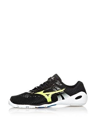 Mizuno Sneakers Minimalistas Wave EVO Levitas (Antracite/Lime/Bianco)