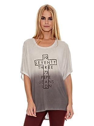 Pepe Jeans London Camiseta Ludgate (Gris Claro)