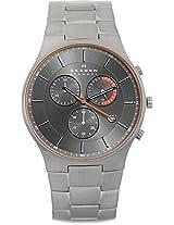 Skagen Aktiv Analog Watch - For Men Grey - SKW6076