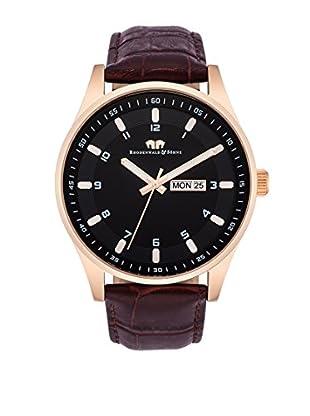 Rhodenwald & Söhne Reloj 10010112 Marrón Oscuro Ø 43 mm