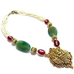 Daamak Jewellery Necklace Set Depicting A Spiritual Image