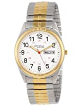 Caravelle by Bulova Men's 45C13 Expansion White Dial Watch