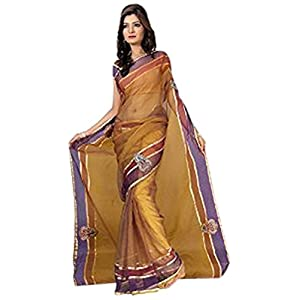 FLORENCE Olive green Earthen Touch Saree
