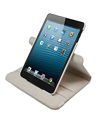 Unotec Funda Rotación Blanca iPad Mini Blanca