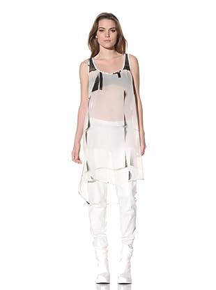 Ann Demeulemeester Women's Scoop Neck Dress (Off-White)