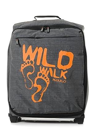 H.Due.O Trolley Wild Walk Grigio/Arancione