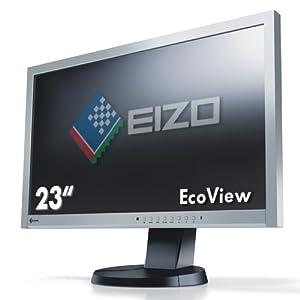 【クリックでお店のこの商品のページへ】EIZO <FlexScan> 23.0インチTFTモニタ 1920x1080 DVI-D24ピンx1 D-Sub15ピンx1 DisplayPortx1 グレイブラック EV2335W-GB
