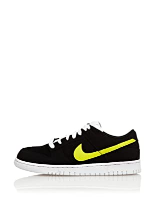 Nike Zapatillas Nike Dunk Low Cl (Negro / Amarillo)