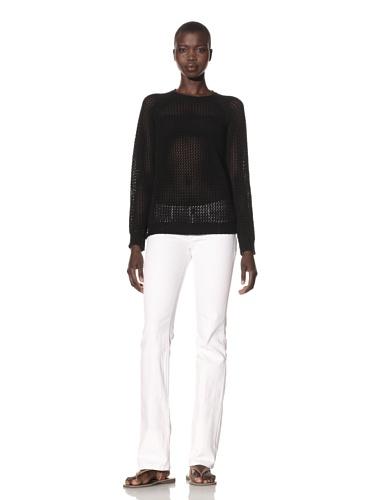 Acrobat Women's Fishnet Sweater (Black)