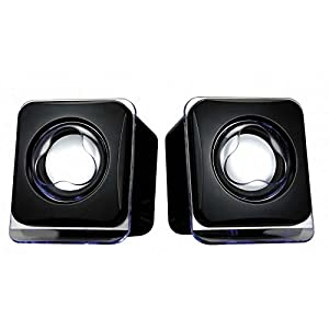 Excellent Acoustic Mini USB2.0 Speaker with 3.5 mm Audio Input Port for Laptop, Computer, MP3/MP4, Phone