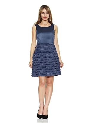 Strena Vestido Nadia Cuello Redondo (Azul)