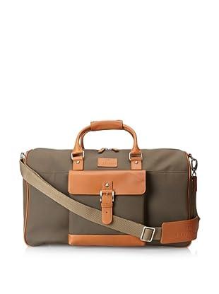 Trafalgar Men's Ballistic Leather Duffel (Olive)