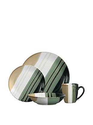 Premier Housewares Geschirr 16 tlg. Set grün