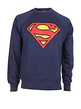 DC Comics Felpa Superman Distress Logo