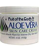 Fruit Of The Earth Bogo Cream Aloe Vera 4Oz. Jar