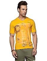 Do U Speak Green Limestone Yellow Printed Men T shirt DUSG 177