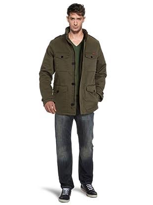 MUSTANG Jeans Chaqueta (Verde)