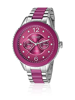 Esprit Orologio al Quarzo Woman Marin Lucent Speed Berry 40 mm