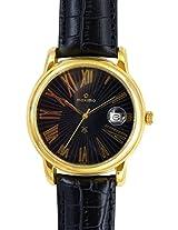 Maxima Analog Black Dial Men's Watch - 24482LMGY