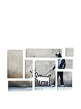 Banksy Choose Your Weapon Keith Haring Dog 8-Piece Giclée On Canvas