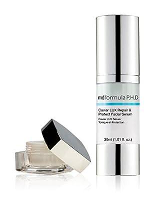 MD FORMULA  Beauty-Set 2 tlg. Caviar Lux Repair & Protect Facial Serum, Rejuvenation Treatment