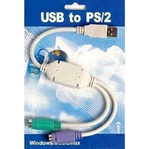 Technotech TECH-486 Convert USB to PS2 Port