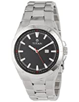 Titan Octane Analog Black Dial Men's Watch - NB9381SM02J