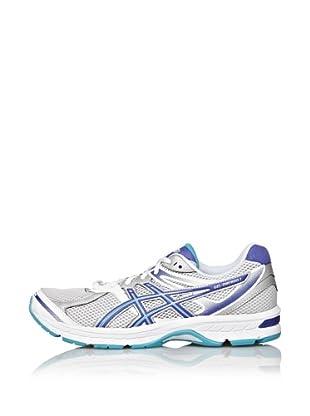 Asics Zapatillas Running Gel-Oberon 7 (Blanco / Azul / Gris)