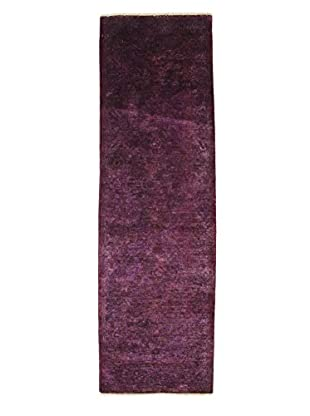 Darya Rugs Ziegler One of a Kind Rug, Purple, 2' 10