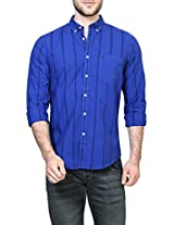Allen Solly Men Comfort Fit Shirt_ALSF514C04320_40_Blue