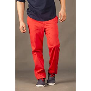 Perfect Chino Pants Red