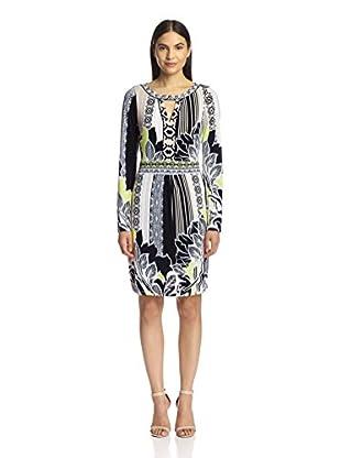 Hale Bob Women's Long Sleeve Dress
