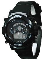 A Avon Sports Digital Black Dial Men's Watch - 1001135
