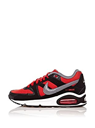 Nike Zapatillas Air Max Command (Gs) (Negro / Rojo)