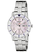 Seiko 5 Sports Analog Off White Dial Men's Watch - SRP199K1