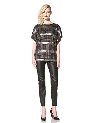 Sheri Bodell Women's Bowie Blouse (Black)