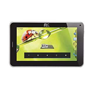 HCL ME Connect V3 Tablet (7 inch, 4GB, Wi-Fi+3G+Voice Calling), Silver