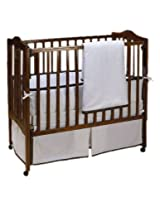 Baby Doll Bedding Forever Mine Crib Bedding Set, Chocolate