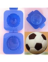Football round-shaped sushi rice ball mold DIY eggs stamping die