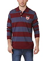 American Crew Men's Cotton Blend Polo T-Shirt(AC089BFS-_Multicolor_XL)